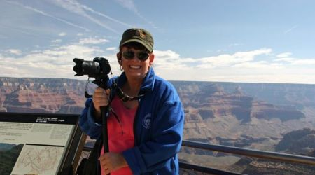 lisa at Grand Canyon